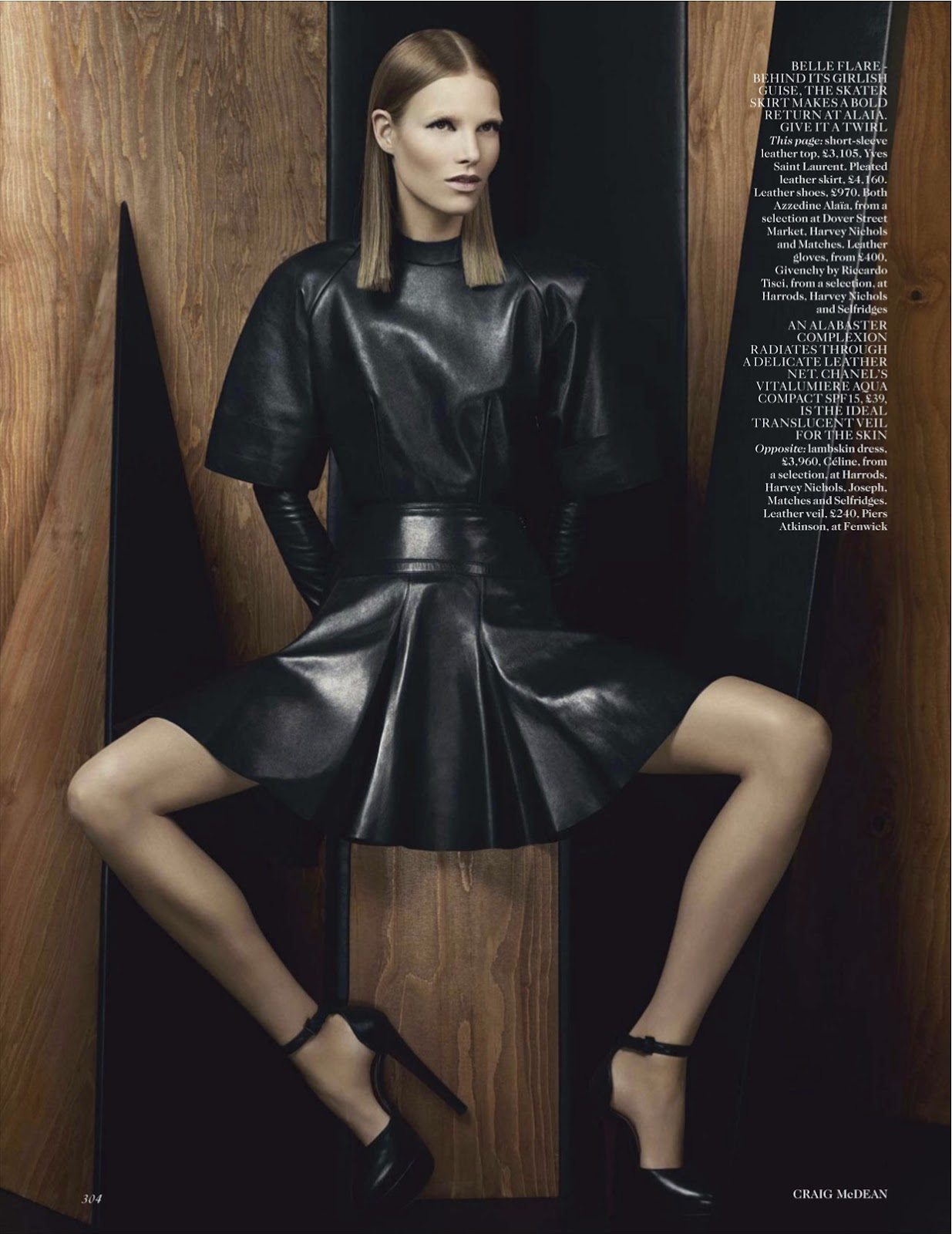 Vogue Uk September 2012 New Noir Featuring Suvi Koponen